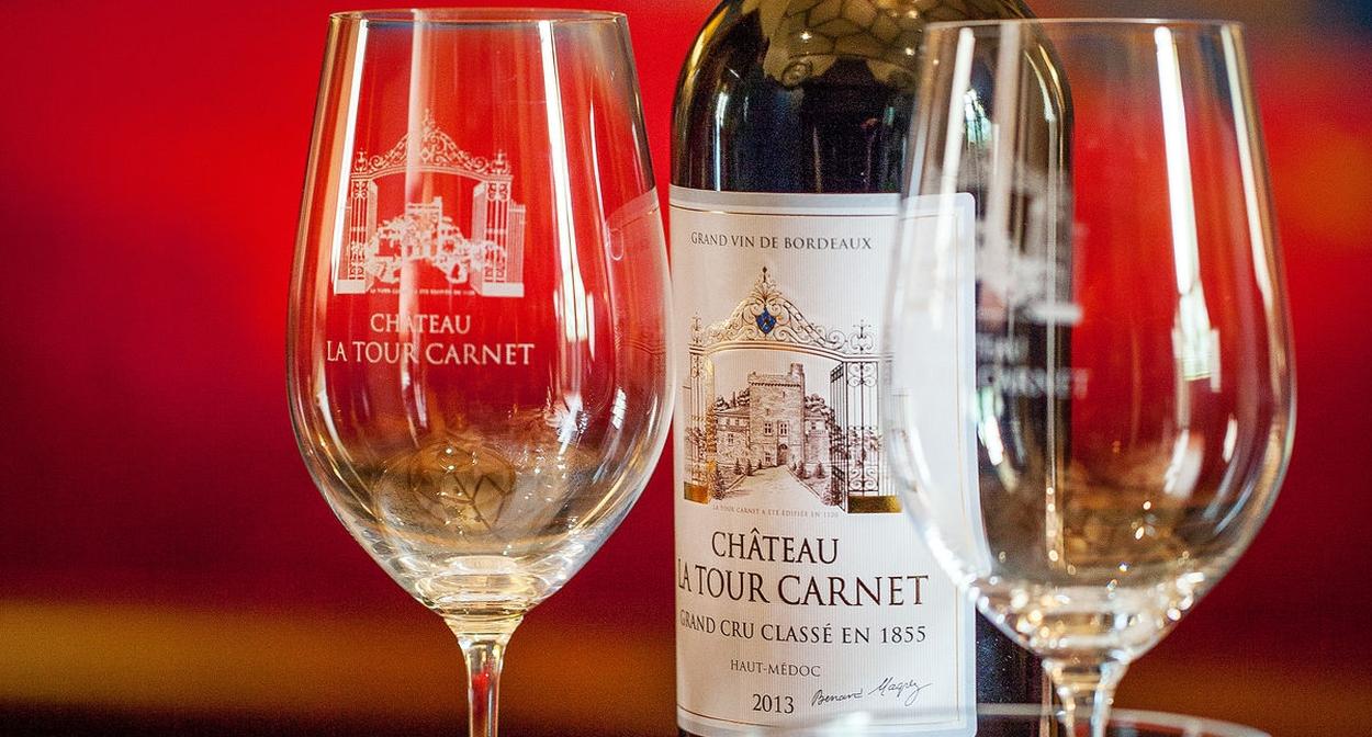 Médoc tasting © Deepix - Château La Tour Carnet