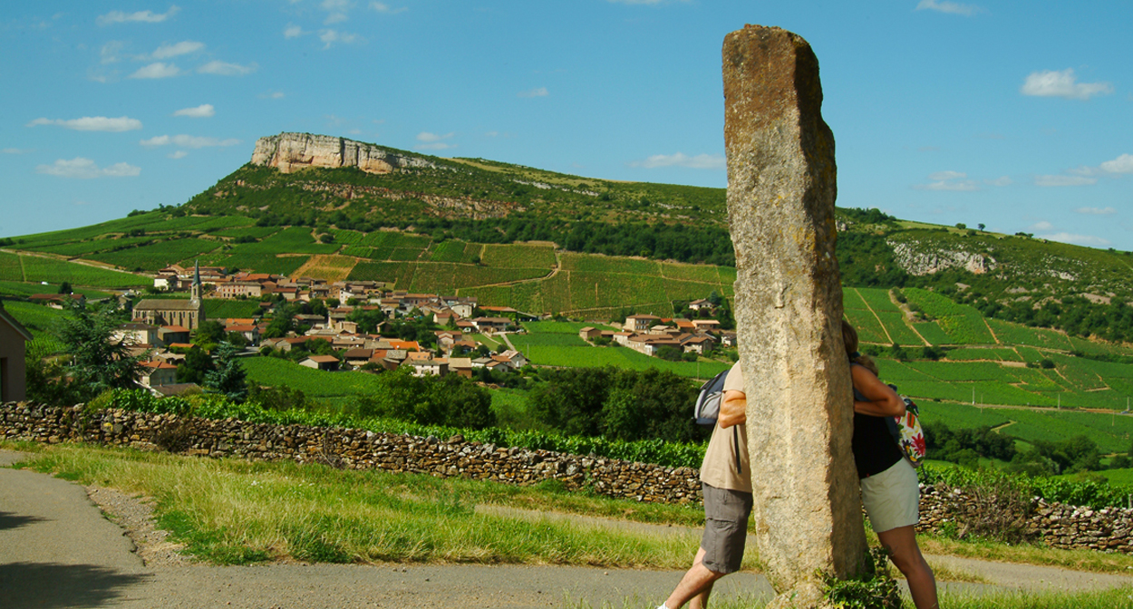 Standing stone in south Bourgogne