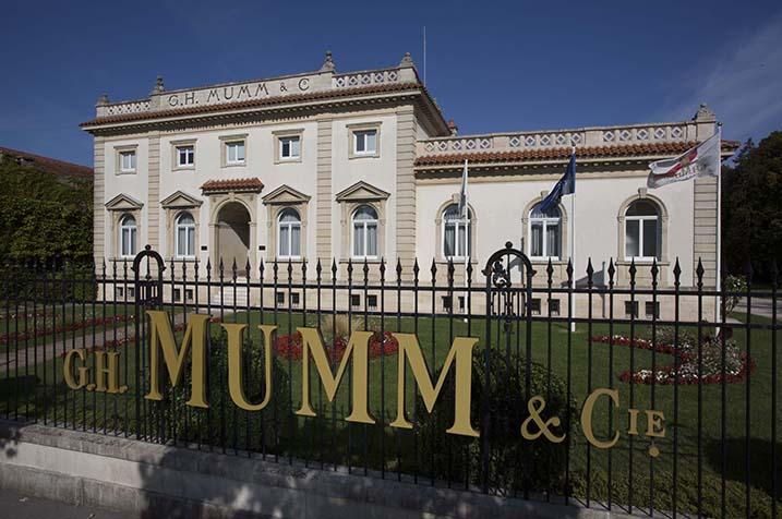 Mumm coypright maison mumm