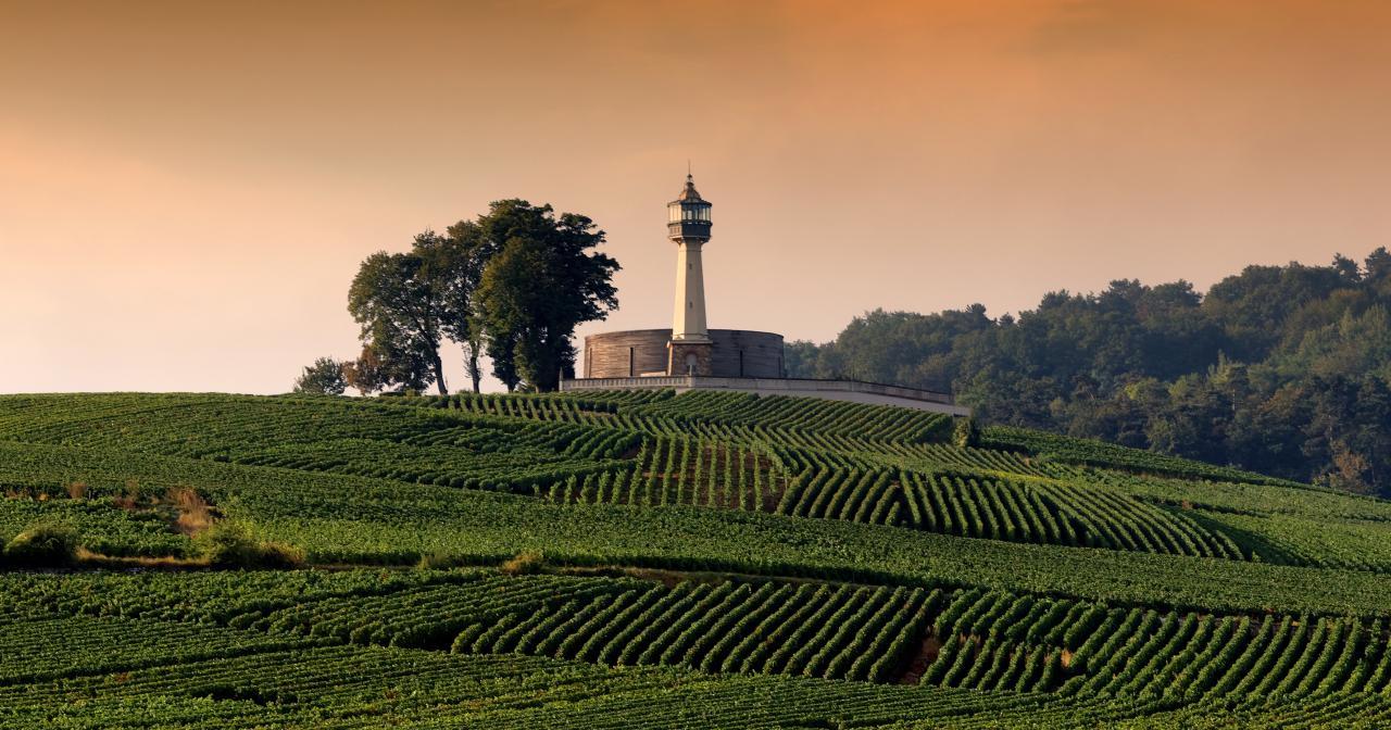 Phare de Verzenay,Vignoble de Champagne©Goulet - ADTMarne