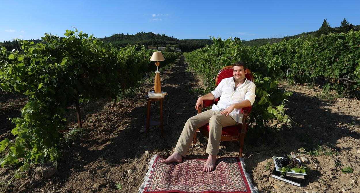 Votre salon dans les vignes © Vignerons Indépendants de France