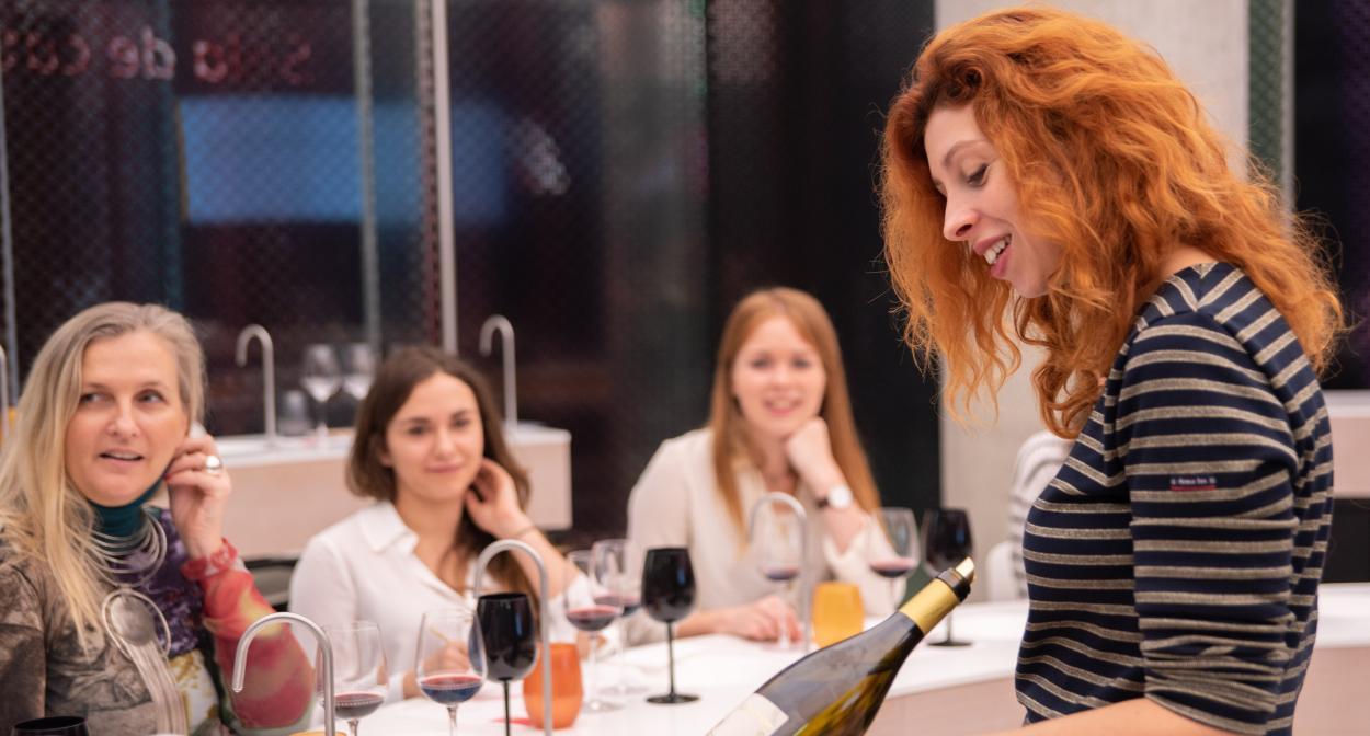 Wine tasting workshop ©La Cité du Vin
