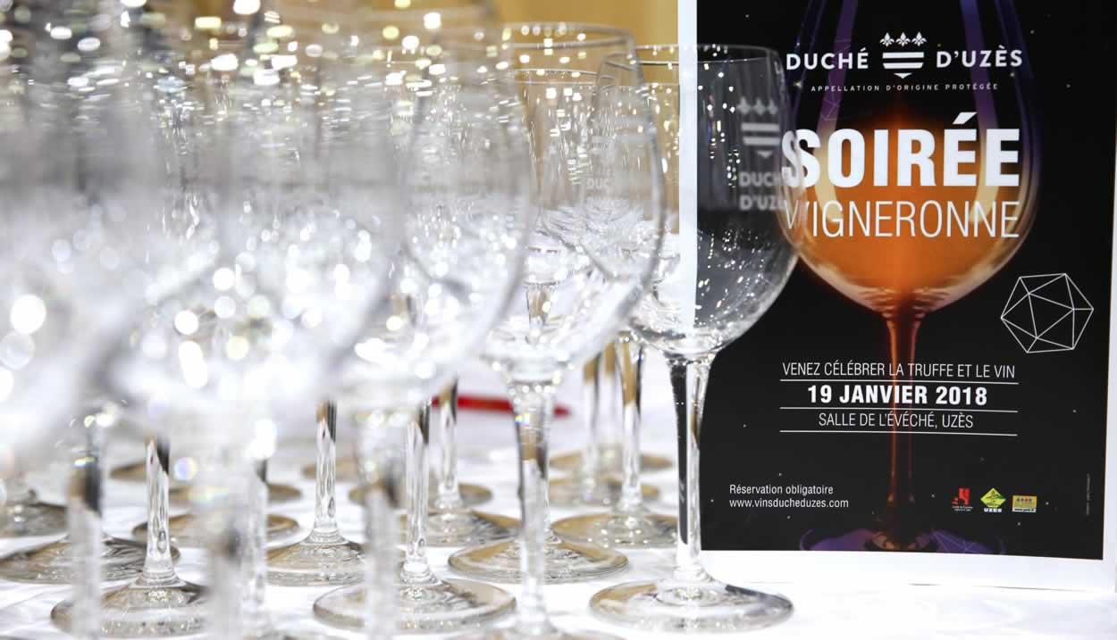 Soirée vignerone Duché d'Uzès 002 © Agence le petit gastronome