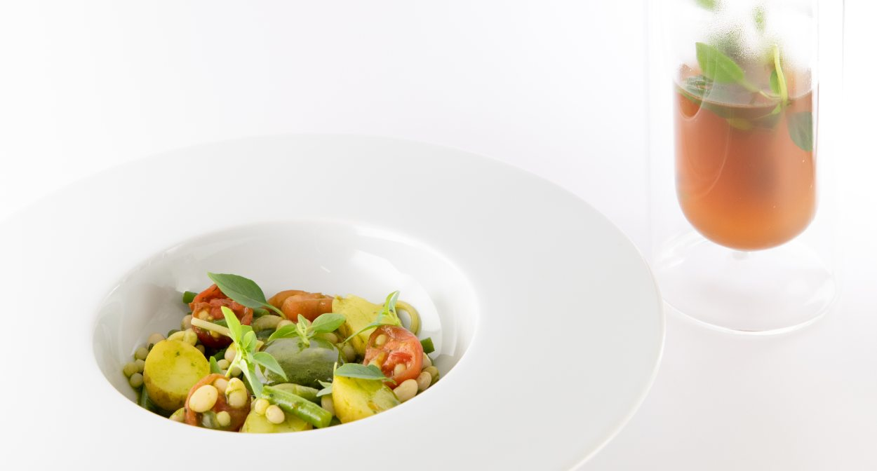 High-end cuisine © Relais & Châteaux Le Phébus