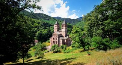 Abbaye de Murbach, Alsace ©Vincent Schneider