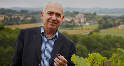 Alain Brumont Owner of the Chateaux Montus and Bouscassé vineyards madiran tannat south west of France © Chateau Montus Chapuis