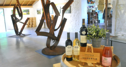 Art and wines © Château La Jaubertie
