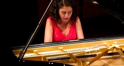 Béatrice Rana at the Flâneries Musicales in Reims music festival in Champagne (c) Maison Mumm