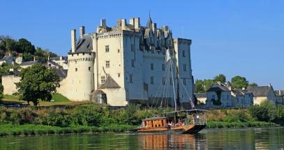 Chateau de montsoreau et lamarante boat trip on the Loire wine tasting ©Franck Charel