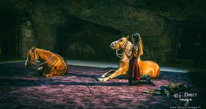Spectacle équestre Cheval en Caves Ackerman ©direct images