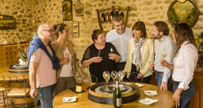An introduction to champagne tasting at the winemaker's house