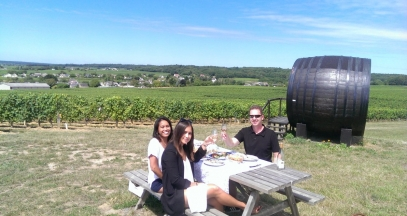 Enjoying a getaway in the vineyards of Touraine © Val de Loire Travel