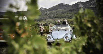 Balade insolite dans les vignes lors du Fascinant Week-end ©EPerrin