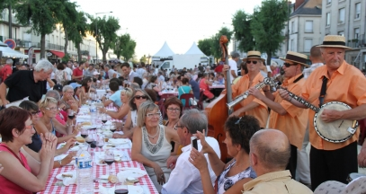 The 'Grandes Tablées' of Saumur-Champigny a great musical programme © Syndicat des Producteurs de Saumur-Champigny