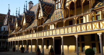Hospices de Beaune vineyard of Bourgogne ©BIVB Ibanez