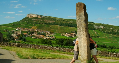 Standing stone in south Bourgogne Mâcon ©All rights reserved