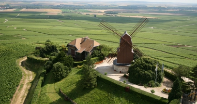Moulin de Verzenay patrimoine mondial unesco champagne ©F. Canon