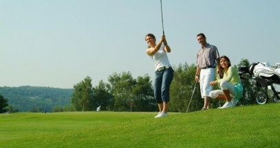 Oenotourisme et golf dans le vignoble de Bourgogne ©Jean-Pierre Eschmann