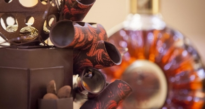Cognac and chocolate ©Rémy Martin