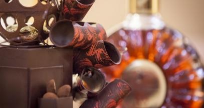 Cognac and chocolate ©Rémy Martin