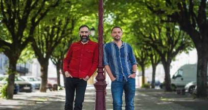 Tony Conigliaro et Guillaume Le Dorner ©Bar Luciole