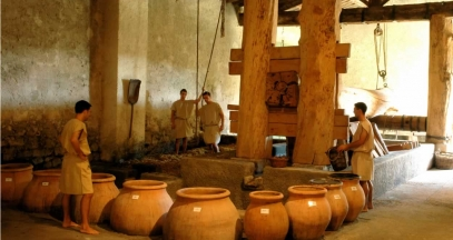 Les tourelles – caves romaines ©Domaine Le Mas des Tourelles
