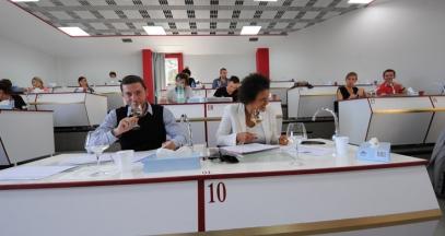 Cours d'oenologie à l'Université de Suze-la-Rousse, vallée du Rhône