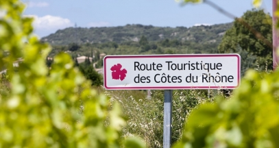 Follow Jeanine as she visits the rhone valley vineyard ©Inter rhône