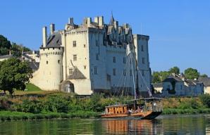 Chateau de montsoreau et lamarante balade en bateau et vins de Loire ©Franck Charel