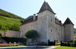 Château de la Mar fine food in the Savoie vineyard ©DR