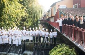 Georges Blanc gastronomie et oenologie Vonnas ©Culinaire Blanc CMJNF