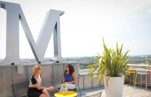 Indigo rooftop bar By Martell in Cognac @Aline Aubert