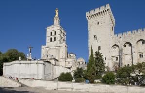Le Palais des Papes à Avignon France © Christophe Grilhé