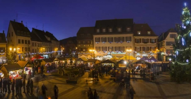Alsace's wine cellars at Christmas © JENNY-ConseilVinsAlsace / JENNY Jean-Philippe
