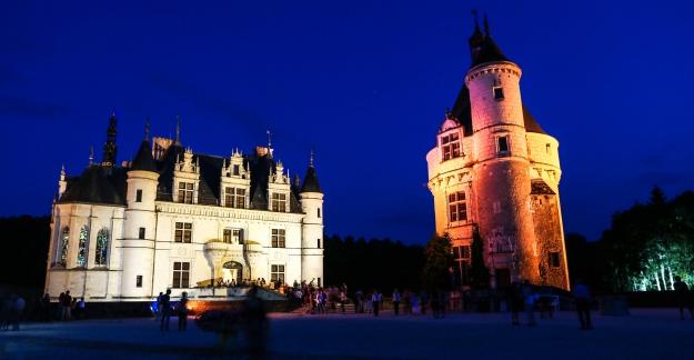 Dégustation nocturne au château de Chenonceau © Philippe Lucchese