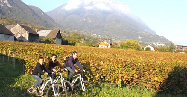 week-end de fête dans vignoble savoie ©Le Taillefer Lionel Daviet
