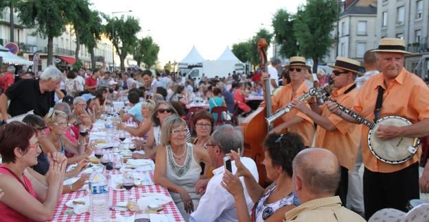 The 'Grandes Tablées' of Saumur-Champigny a great musical programme © Syndicat des Producteurs de Saumur-Champigny