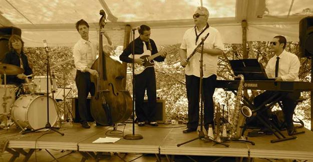 Pique nique jazz au château de berne en Provence ©DR