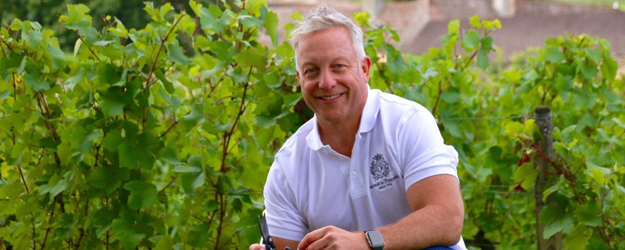 Michael Baum, PDG et propriétaire du Château de Pommard © Famille Carabello-Baum