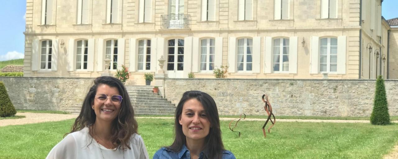 Marion Merker et Stéphanie Barousse du Château de La Dauphine