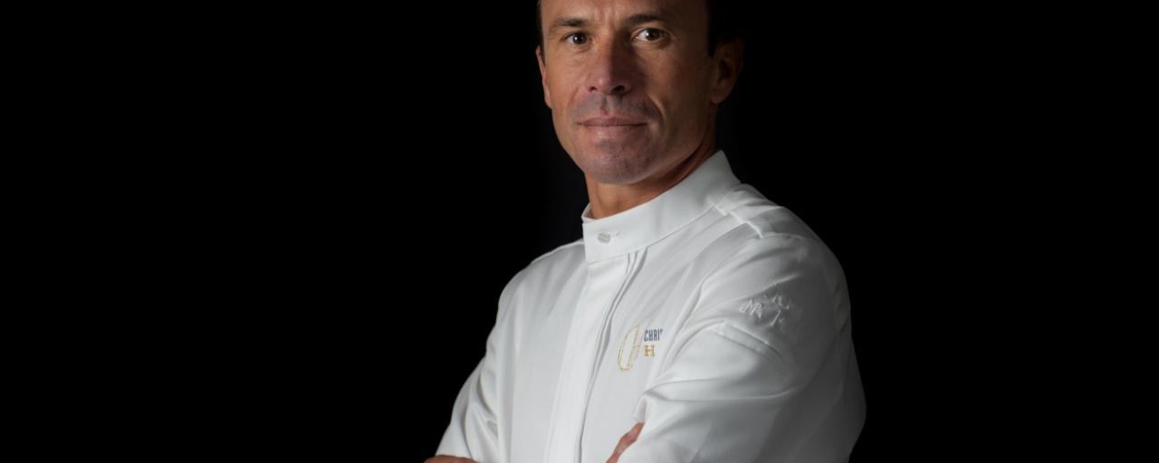 Portrait du chef Christophe Hay©Louise Jean-Baptiste