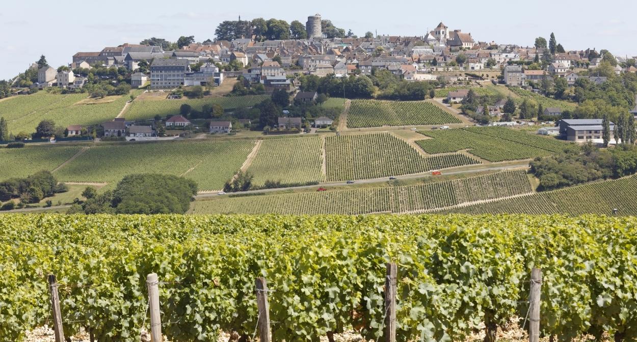 Vignes et Village de Sancerre © C. Mouton – CRT Centre Val de Loire