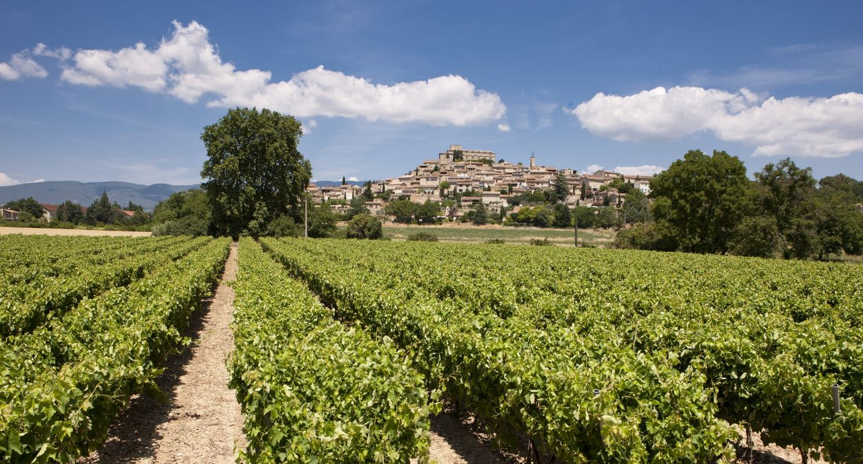 Hillside villages of Luberon