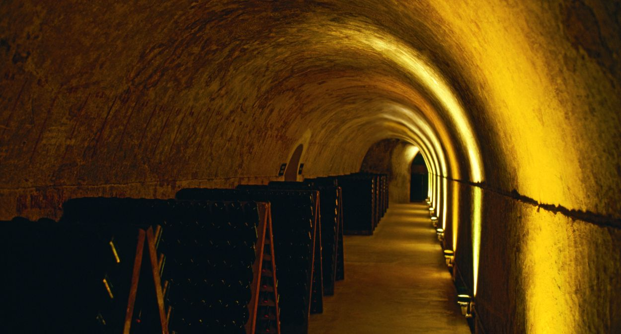 Cellars of Mumm Champagne