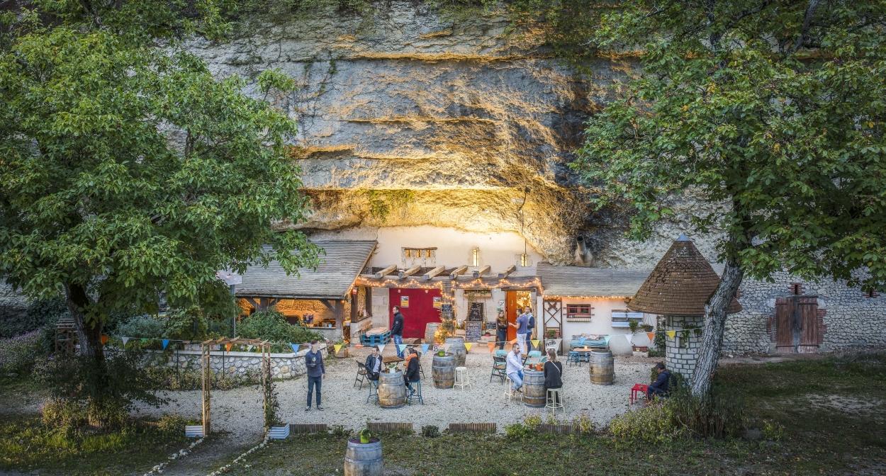 Cave Volupia_Troglodyte_Loire Valley ©D. Darrault