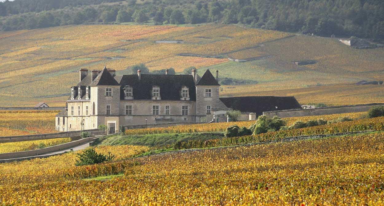 Château du Clos de Vougeot en Bourgogne